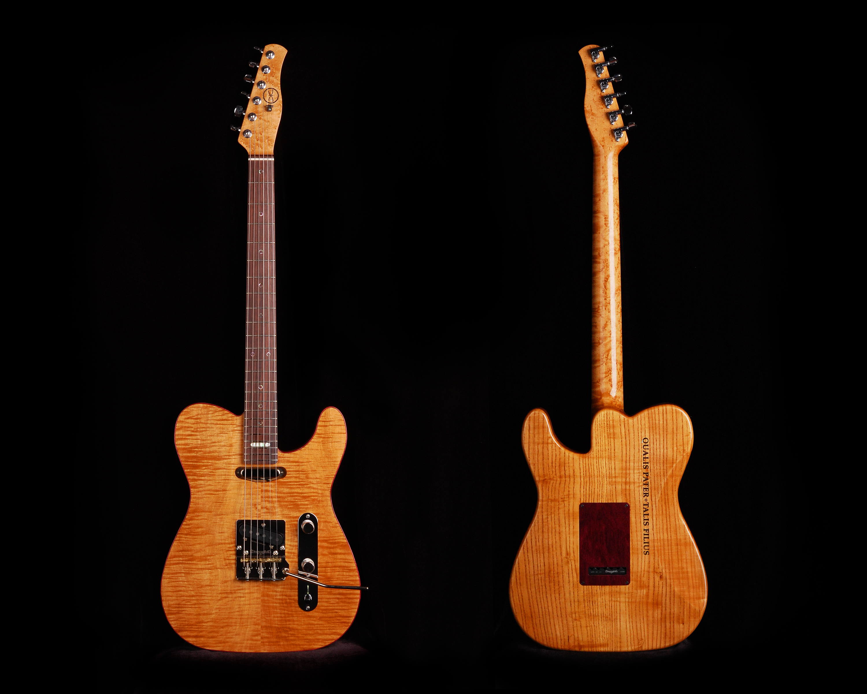 #048 Koentopp Electric Guitar Front and Back
