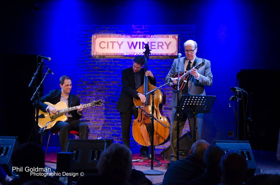 The Don Stiernberg Trio opening for The David Grisman Trio at City Winery.