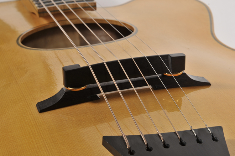 Archtop Guitar Bridge Feet