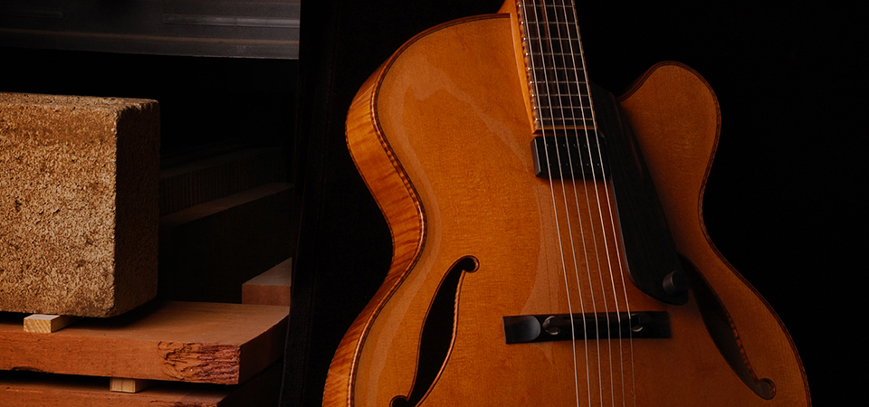 Photograph of a Koentopp Guitar